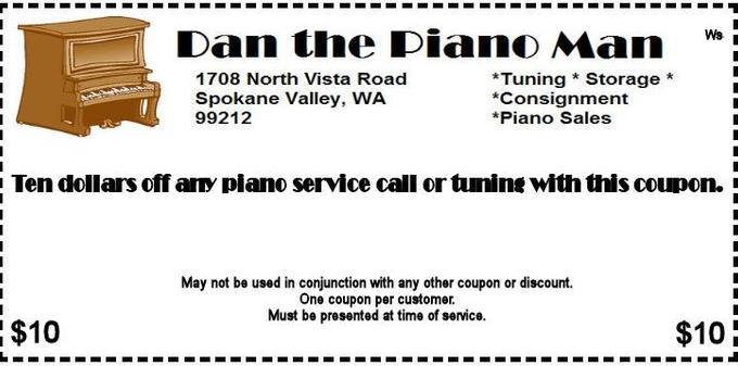 Piano Tuning Coupon